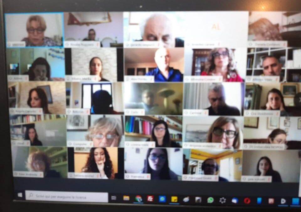 Conferenza online della Rete dei Licei Artistici della campania