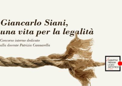 """""""Poesie e arte di legalità"""" dedicato alla prof. Patrizia Cannarella"""