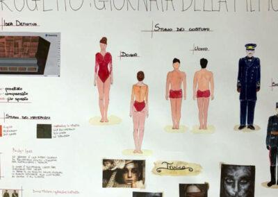 """Progetti """"Giornata della memoria"""", 5 E indirizzo di Scenografia."""
