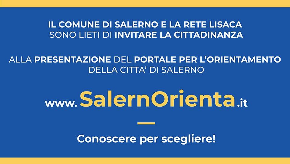PRESENTAZIONE DEL PORTALE PER L'ORIENTAMENTO DELLA CITTÀ DI SALERNO