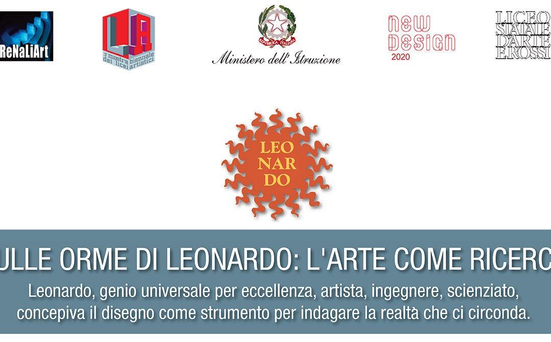 SULLE ORME DI LEONARDO: L'ARTE COME RICERCA
