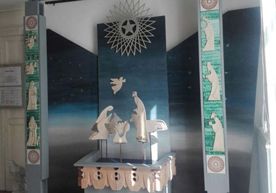 """Inaugurazione del """"Portale della Natività"""" al Duomo di Salerno."""